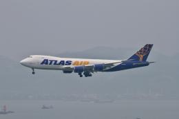 tupolevさんが、香港国際空港で撮影したアトラス航空 747-87UF/SCDの航空フォト(写真)
