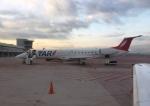 FlyHideさんが、ドン・ミゲル・イダルゴ・イ・コスティージャ国際空港で撮影したTARエアロリネアス ERJ-145LRの航空フォト(写真)