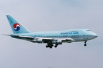 SKYLINEさんが、啓徳空港で撮影した大韓航空 747SP-B5の航空フォト(飛行機 写真・画像)