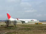 delawakaさんが、上海浦東国際空港で撮影した日本航空 737-846の航空フォト(飛行機 写真・画像)