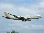 アイスコーヒーさんが、成田国際空港で撮影したアシアナ航空 747-48EMの航空フォト(飛行機 写真・画像)