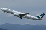 Wings Flapさんが、福岡空港で撮影したキャセイパシフィック航空 A330-342の航空フォト(写真)