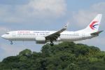 Wings Flapさんが、福岡空港で撮影した中国東方航空 737-89Pの航空フォト(写真)