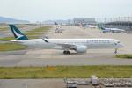 きんめいさんが、関西国際空港で撮影したキャセイパシフィック航空 A350-941XWBの航空フォト(写真)