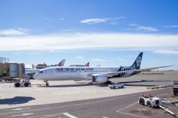 Dra-gonさんが、ダニエル・K・イノウエ国際空港で撮影したニュージーランド航空 787-9の航空フォト(飛行機 写真・画像)