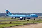 らいぬあーさんが、成田国際空港で撮影した大韓航空 747-8B5F/SCDの航空フォト(写真)