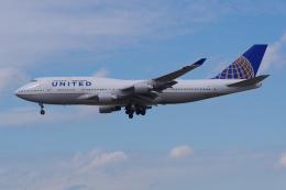 PASSENGERさんが、フランクフルト国際空港で撮影したユナイテッド航空 747-422の航空フォト(飛行機 写真・画像)