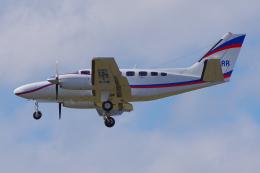 PASSENGERさんが、フランクフルト国際空港で撮影したイギリス個人所有 441 Conquest IIの航空フォト(飛行機 写真・画像)