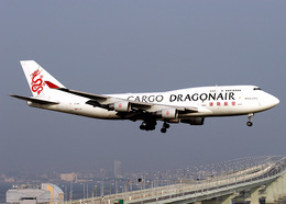 DEE JAYさんが、関西国際空港で撮影した香港ドラゴン航空 747-412(BCF)の航空フォト(飛行機 写真・画像)