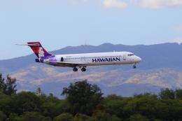 かみじょー。さんが、ダニエル・K・イノウエ国際空港で撮影したハワイアン航空 717-2BLの航空フォト(飛行機 写真・画像)