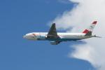 よしぱるさんが、香港国際空港で撮影したオーストリア航空 777-2Q8/ERの航空フォト(写真)