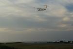 トラッキーさんが、与論空港で撮影した琉球エアーコミューター DHC-8-402Q Dash 8 Combiの航空フォト(写真)