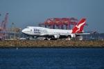 nobu2000さんが、シドニー国際空港で撮影したカンタス航空 747-438/ERの航空フォト(写真)