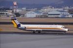 なぞたびさんが、名古屋飛行場で撮影した日本エアシステム DC-9-41の航空フォト(写真)