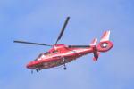 md11jbirdさんが、舞洲ヘリポートで撮影した大阪市消防航空隊 AS365N3 Dauphin 2の航空フォト(写真)