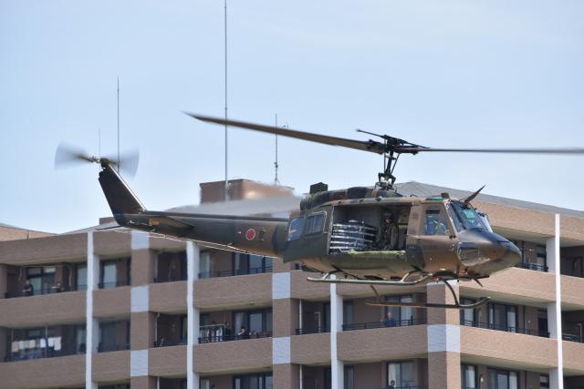 にししょさんが、春日基地で撮影した陸上自衛隊 UH-1Jの航空フォト(飛行機 写真・画像)