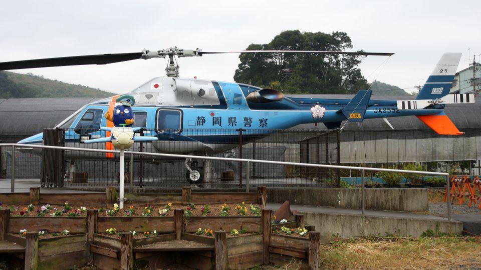 cathay451さんの静岡県警察 Bell 222/230 (JA9552) 航空フォト