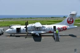 nobu2000さんが、沖永良部空港で撮影した日本エアコミューター ATR 42-600の航空フォト(飛行機 写真・画像)