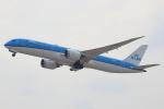 セブンさんが、関西国際空港で撮影したKLMオランダ航空 787-9の航空フォト(飛行機 写真・画像)