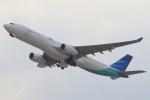 セブンさんが、関西国際空港で撮影したガルーダ・インドネシア航空 A330-343Xの航空フォト(飛行機 写真・画像)