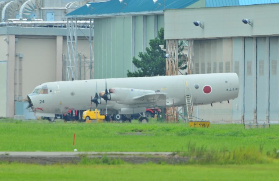 ヨッちゃんさんの海上自衛隊 Kawasaki P-3C Orion (5024) 航空フォト