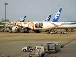 まいけるさんが、成田国際空港で撮影した全日空 777-381/ERの航空フォト(写真)