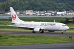kumagorouさんが、出雲空港で撮影したJALエクスプレス 737-846の航空フォト(飛行機 写真・画像)