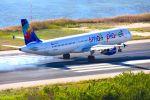 まいけるさんが、コルフ・イオアニス・カポディストリアス空港で撮影したスモール・プラネット・エアラインズ・ポーランド A321-211の航空フォト(写真)