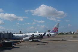 シフォンさんが、高雄国際空港で撮影したチャイナエアライン 737-8FHの航空フォト(飛行機 写真・画像)