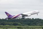 どりーむらいなーさんが、成田国際空港で撮影したタイ国際航空 777-2D7/ERの航空フォト(写真)