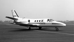 ハミングバードさんが、名古屋飛行場で撮影したソニートレーディングインターナショナル 500 Citationの航空フォト(飛行機 写真・画像)
