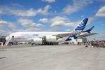 こすけさんが、ル・ブールジェ空港で撮影したエアバス A380-861の航空フォト(写真)
