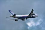 パンダさんが、成田国際空港で撮影した日本貨物航空 747-8KZF/SCDの航空フォト(写真)