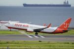 yabyanさんが、中部国際空港で撮影したチェジュ航空 737-83Nの航空フォト(飛行機 写真・画像)