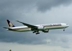 じーく。さんが、成田国際空港で撮影したシンガポール航空 777-312/ERの航空フォト(飛行機 写真・画像)
