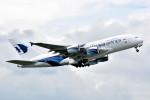 サンドバンクさんが、成田国際空港で撮影したマレーシア航空 A380-841の航空フォト(飛行機 写真・画像)