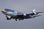 SKYLINEさんが、羽田空港で撮影した全日空 747-481(D)の航空フォト(写真)
