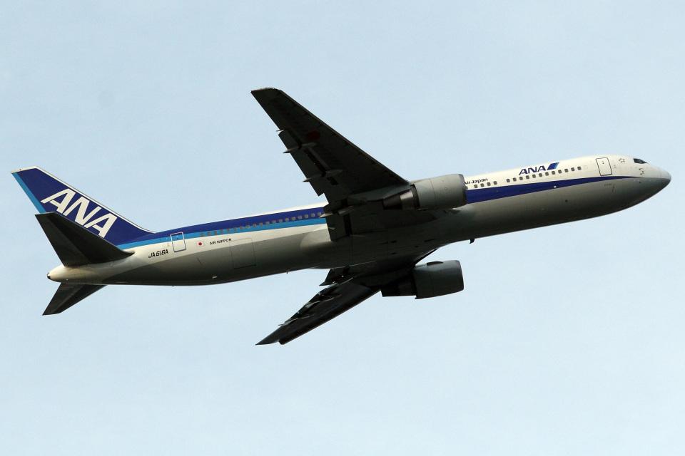 A-Chanさんの全日空 Boeing 767-300 (JA616A) 航空フォト