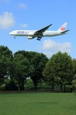 jinopekoさんが、福岡空港で撮影した日本航空 777-246の航空フォト(写真)