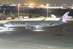 けんじさんが、羽田空港で撮影したカタール航空 A350-941XWBの航空フォト(写真)