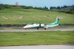とおまわりさんが、秋田空港で撮影したANAウイングス DHC-8-402Q Dash 8の航空フォト(写真)