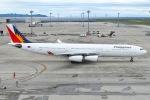 JA8961RJOOさんが、中部国際空港で撮影したフィリピン航空 A340-313の航空フォト(写真)