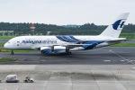 JA8961RJOOさんが、成田国際空港で撮影したマレーシア航空 A380-841の航空フォト(写真)