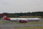 みるぽんたさんが、成田国際空港で撮影したヴァージン・アトランティック航空 A340-642の航空フォト(写真)