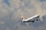 こだしさんが、羽田空港で撮影した中国国際航空 A330-343Xの航空フォト(写真)