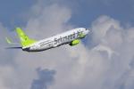 こだしさんが、羽田空港で撮影したソラシド エア 737-81Dの航空フォト(写真)