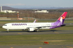 セブンさんが、新千歳空港で撮影したハワイアン航空 767-33A/ERの航空フォト(写真)