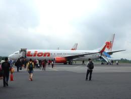 atiiさんが、アジスチプト国際空港で撮影したライオン・エア 737-9GP/ERの航空フォト(飛行機 写真・画像)