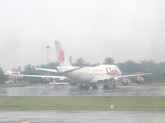 atiiさんが、クアラナム国際空港で撮影したライオン・エア 747-412の航空フォト(飛行機 写真・画像)
