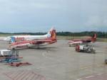 atiiさんが、ハン ナディム空港で撮影したアジアリンク・カーゴ・エアラインズ F27-500 Friendshipの航空フォト(写真)